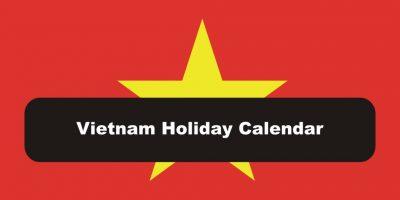 Vietnam public holidays