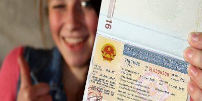 Visa to Vietnam for Canadian, UK, Australian